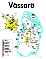 Vässarö Infokarta